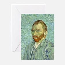 Vincent Van Gogh Self Portrait Greeting Cards