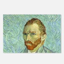 Vincent Van Gogh Self Portrait Postcards (Package