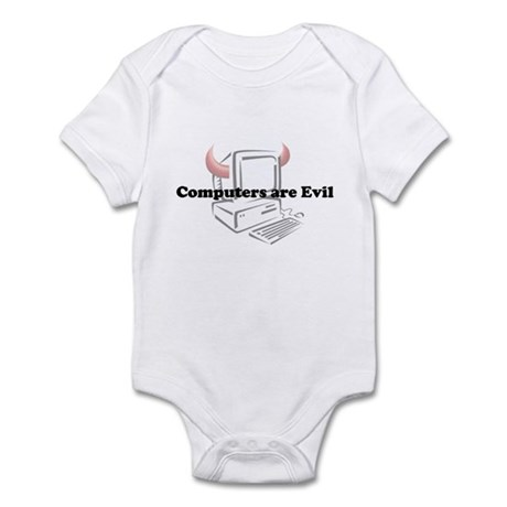 Computers are Evil Infant Bodysuit