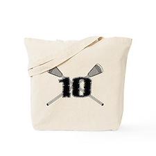 Lacrosse 10 Tote Bag