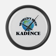 World's Best Kadence Large Wall Clock