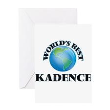 World's Best Kadence Greeting Cards