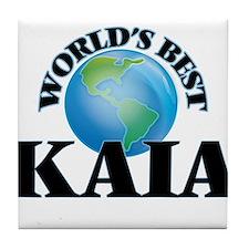 World's Best Kaia Tile Coaster