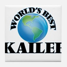 World's Best Kailee Tile Coaster