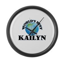World's Best Kailyn Large Wall Clock