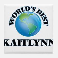 World's Best Kaitlynn Tile Coaster