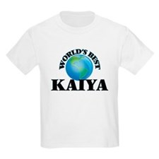 World's Best Kaiya T-Shirt