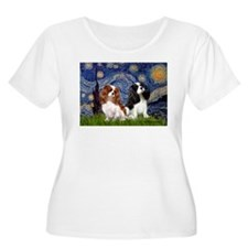 Starry Cavalier Pair T-Shirt