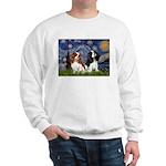 Starry Cavalier Pair Sweatshirt