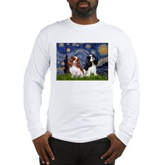 Starry Cavalier Pair Long Sleeve T-Shirt