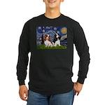Starry Cavalier Pair Long Sleeve Dark T-Shirt