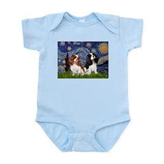 Starry Cavalier Pair Infant Bodysuit