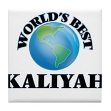 World's Best Kaliyah Tile Coaster