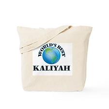 World's Best Kaliyah Tote Bag