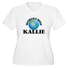 World's Best Kallie Plus Size T-Shirt