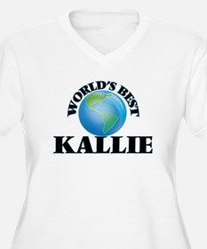 World's Best Kallie Plus Size T-Shirt