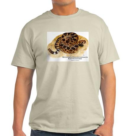Western Diamondback Rattlesna Light T-Shirt