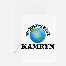 World's Best Kamryn Greeting Cards
