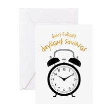 Don't Forget Daylight Savings Greeting Cards