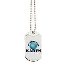 World's Best Karen Dog Tags