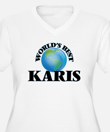 World's Best Karis Plus Size T-Shirt