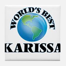 World's Best Karissa Tile Coaster