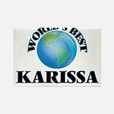 World's Best Karissa Magnets