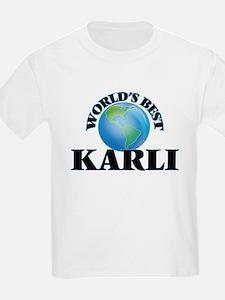 World's Best Karli T-Shirt