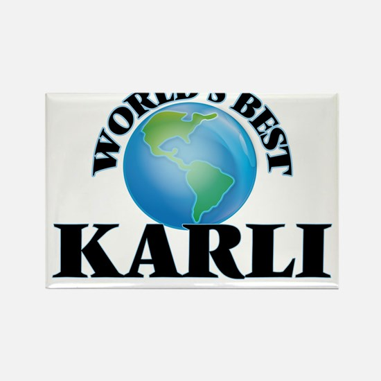 World's Best Karli Magnets
