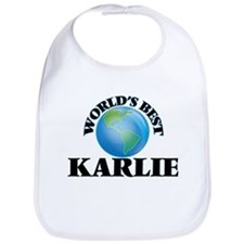 World's Best Karlie Bib
