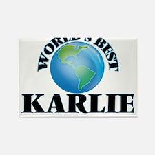 World's Best Karlie Magnets