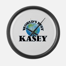 World's Best Kasey Large Wall Clock