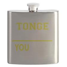 Funny Tongs Flask