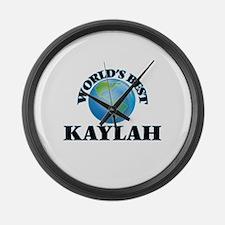 World's Best Kaylah Large Wall Clock