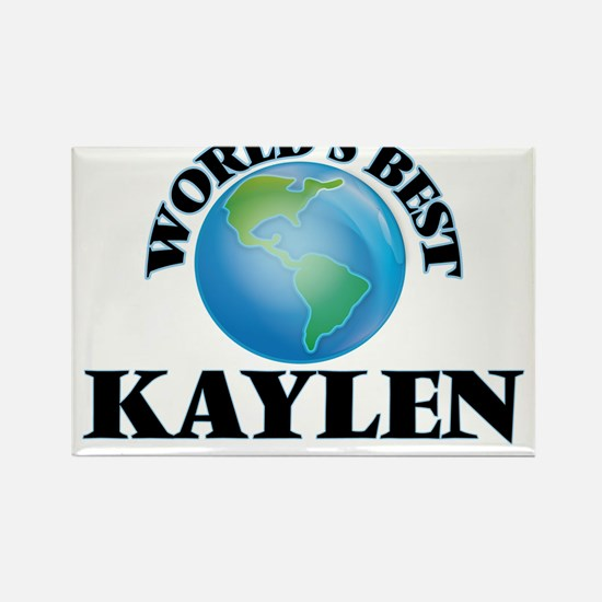 World's Best Kaylen Magnets