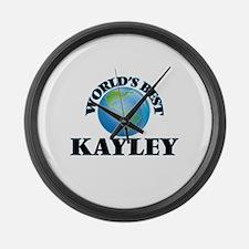 World's Best Kayley Large Wall Clock