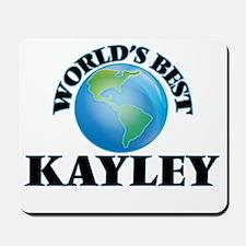 World's Best Kayley Mousepad