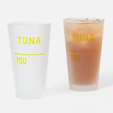 Cute Tuna Drinking Glass