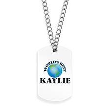 World's Best Kaylie Dog Tags