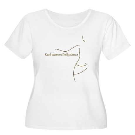 Real Women Bellydance Plus Size Scoop Neck T-Shirt