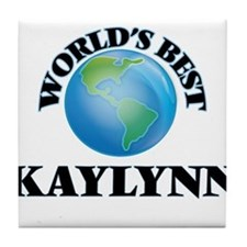 World's Best Kaylynn Tile Coaster