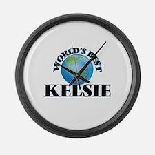 World's Best Kelsie Large Wall Clock