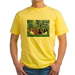Bridge & 4 Cavaliers Yellow T-Shirt