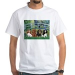 Bridge & 4 Cavaliers White T-Shirt