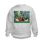 Bridge & 4 Cavaliers Kids Sweatshirt