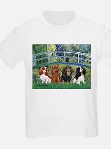 Bridge & 4 Cavaliers T-Shirt
