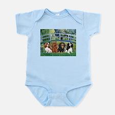 Bridge & 4 Cavaliers Infant Bodysuit