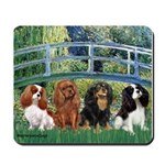 Bridge & 4 Cavaliers Mousepad