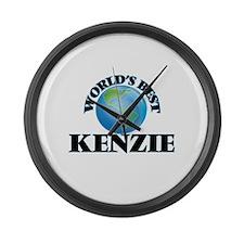 World's Best Kenzie Large Wall Clock