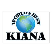 World's Best Kiana Postcards (Package of 8)